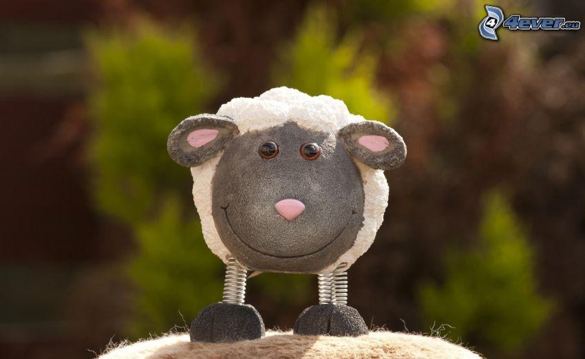 owieczka, figurka