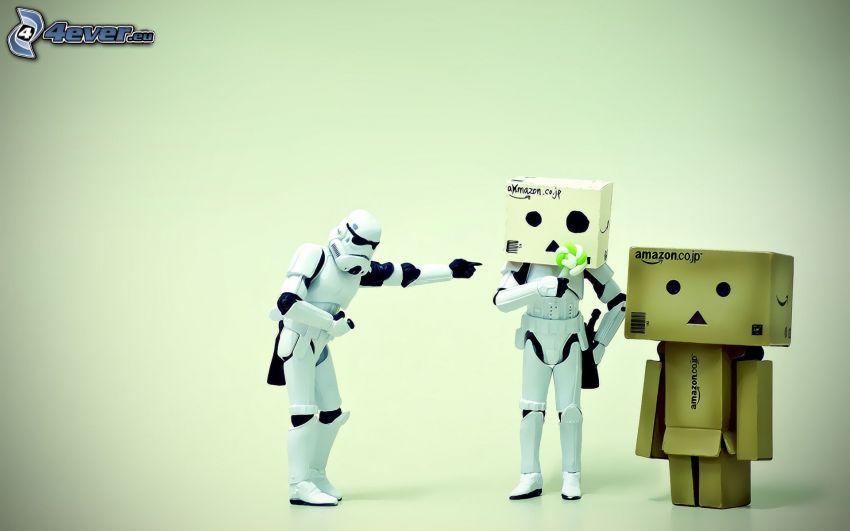 papierowy robot, Stormtrooper