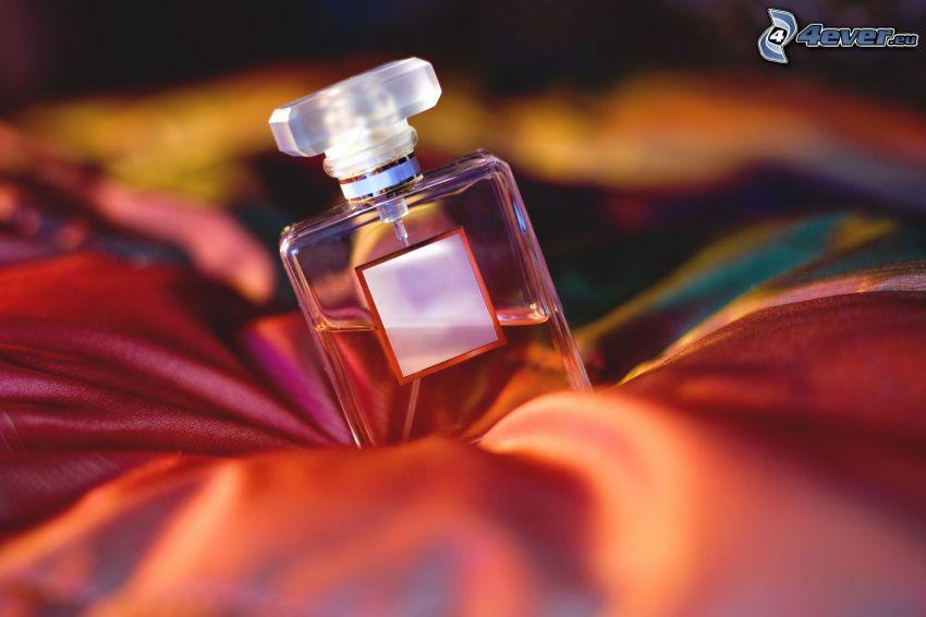 perfumy, jedwab