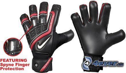 rękawice, piłka nożna, Nike