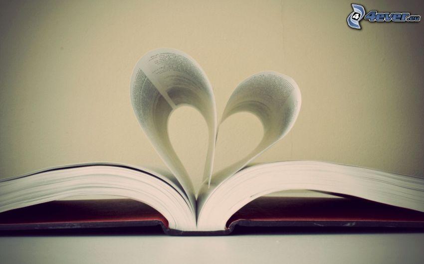 serduszko, książka