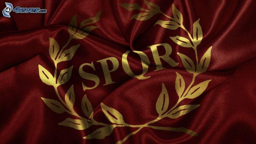 SPQR, flaga