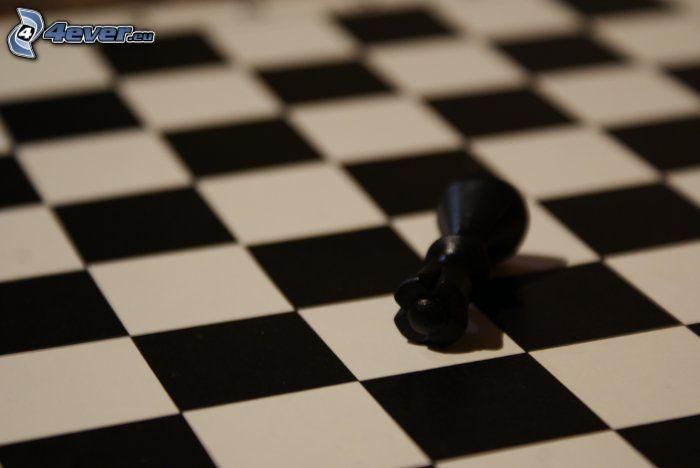 szachownica, pionek
