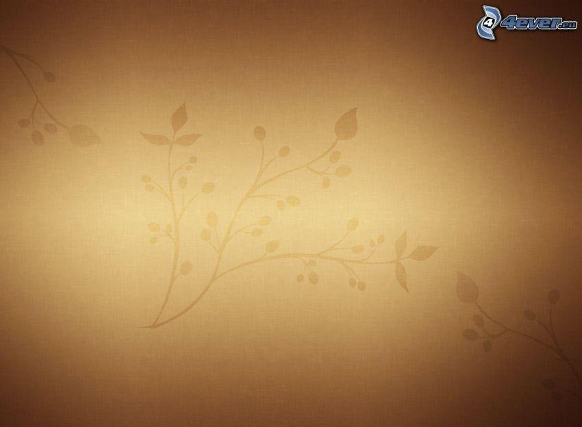 tapeta, brązowe tło