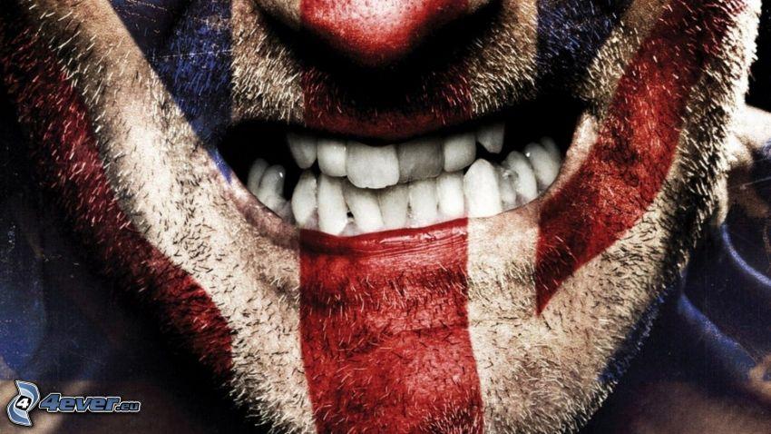zęby, kibic