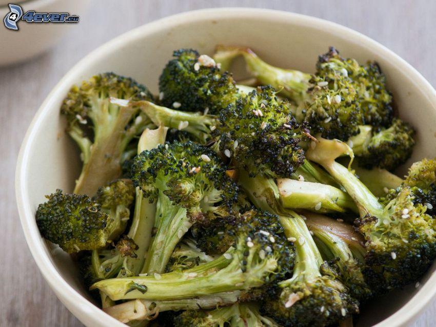 brokuły, miska
