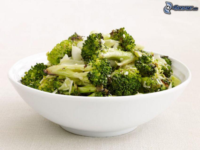 brokuły, obiad