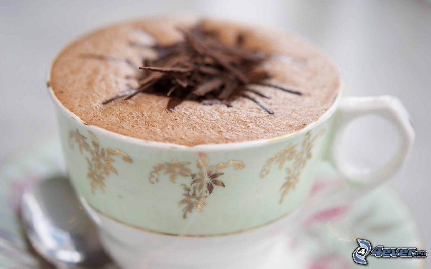 cappuccino, filiżanka