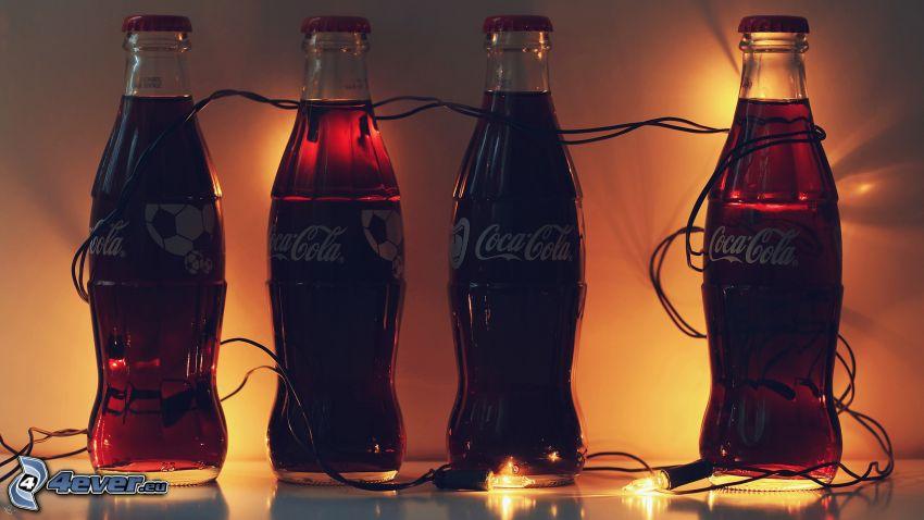 Coca Cola, światełka