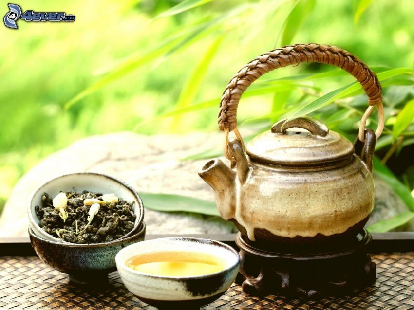 czajnik, herbata