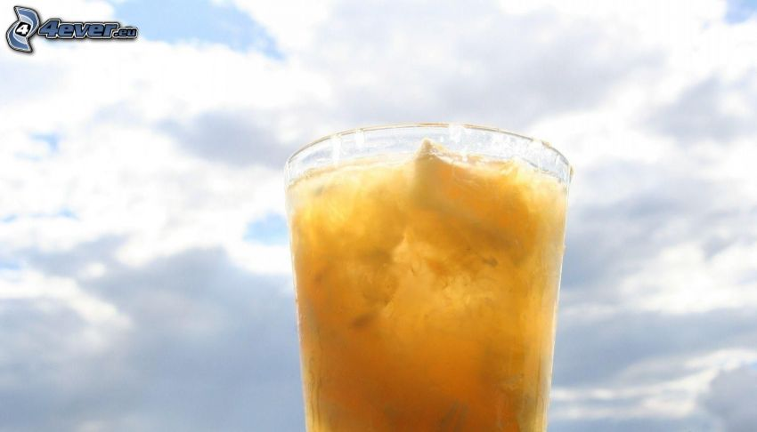 drink, chmury
