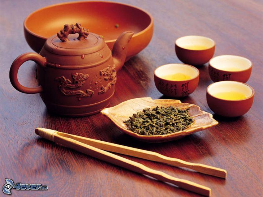 herbata, czajnik