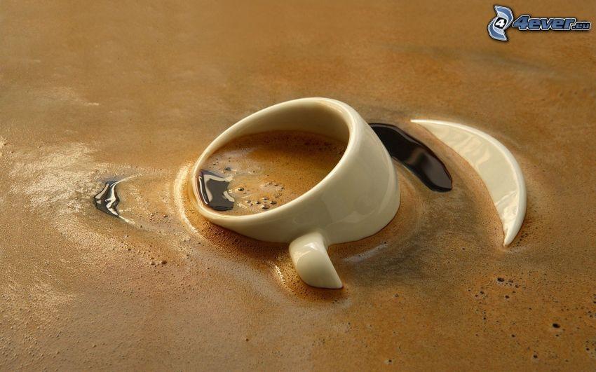 kawa, filiżanka
