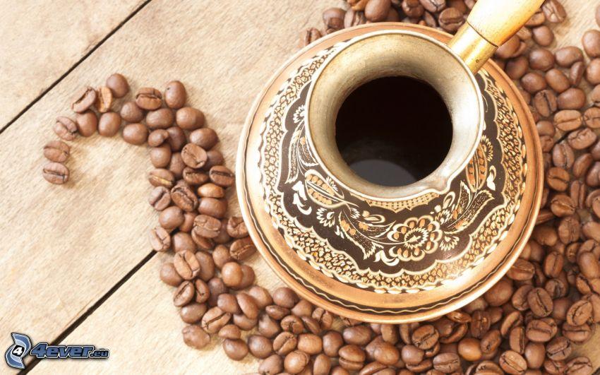 kawa, ziarna kawy