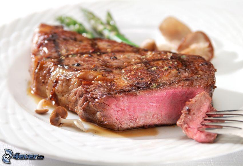 mięso, stek