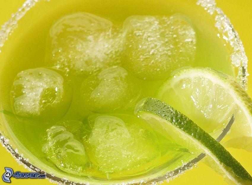 napój, kostki lodu