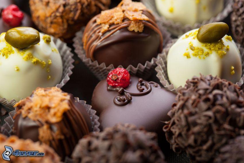 pralinki czekoladowe