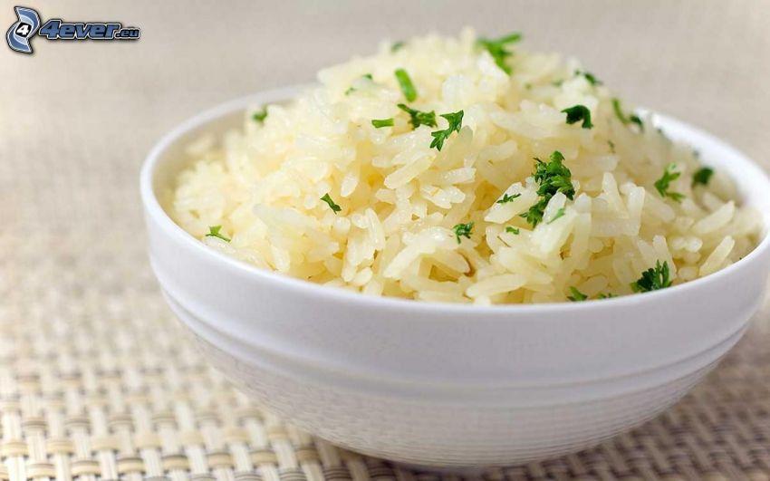 ryż, miska