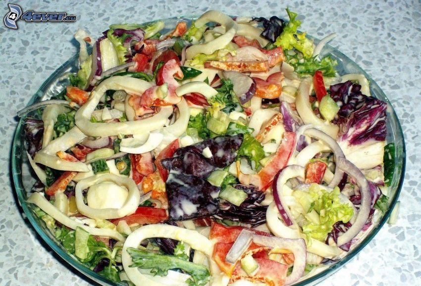 sałatka, warzywa