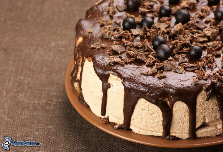 tort, czekolada