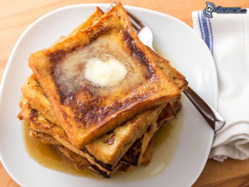 tosty, masło