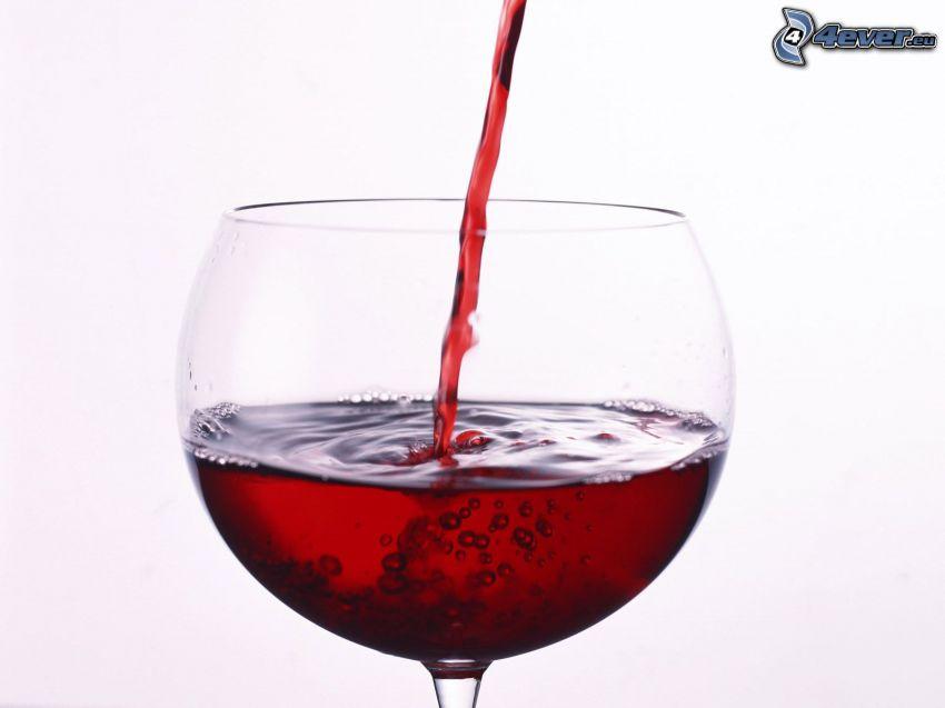 wino, szklanka
