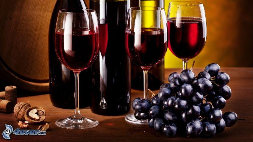 wino, winogrona