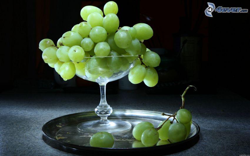 winogrona, szklanka
