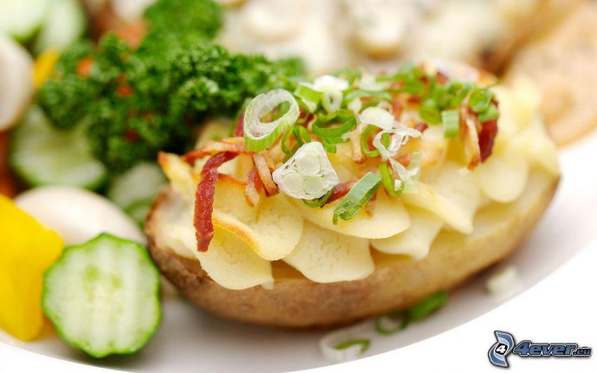 ziemniaki, warzywa