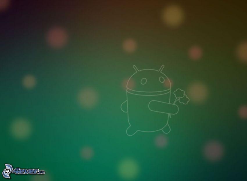 Android, kółka