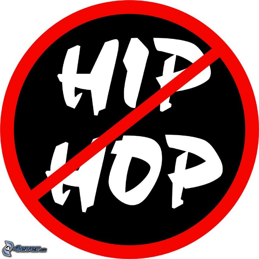 anti hiphop, znak
