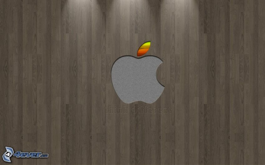 Apple, think different, parkiety