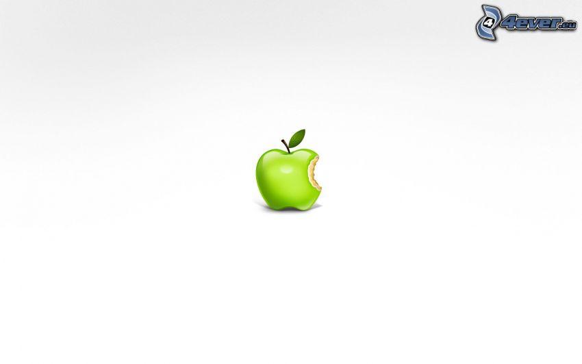 Apple, zielone jabłko