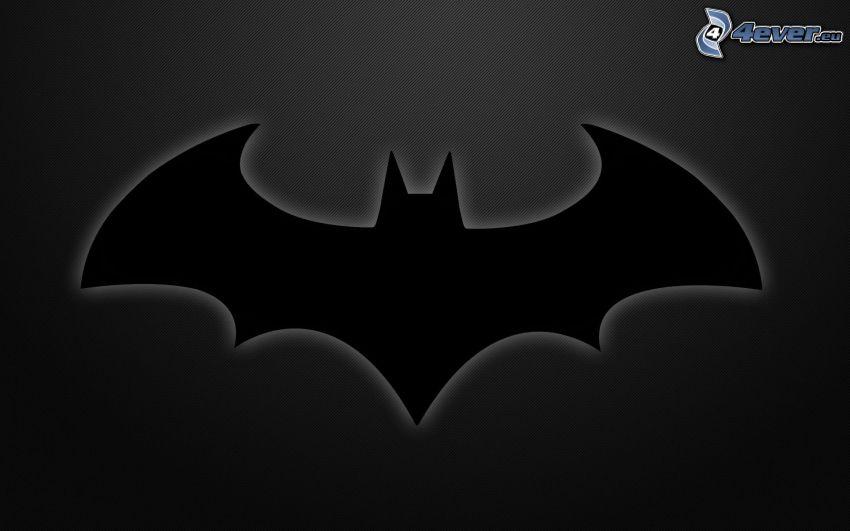 Batman, czarne tło