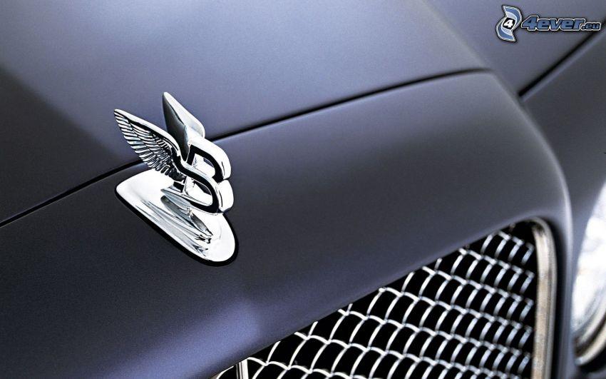 Bentley, emblemat, przednia maska