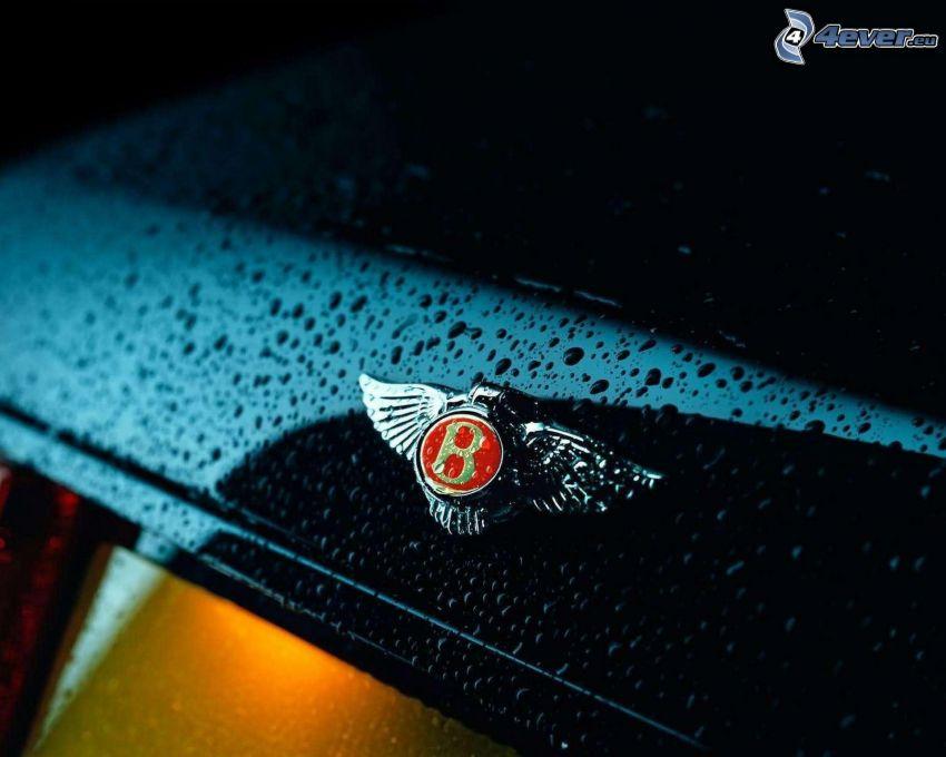 Bentley, krople wody