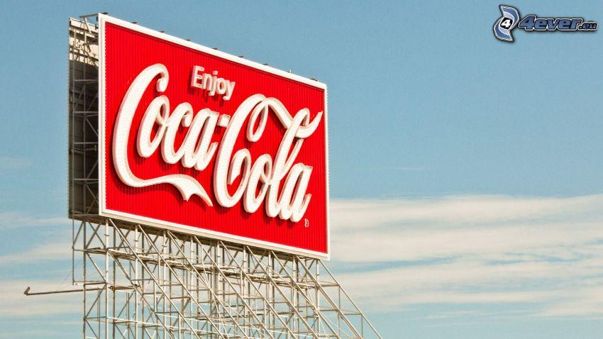 Coca Cola, billboard
