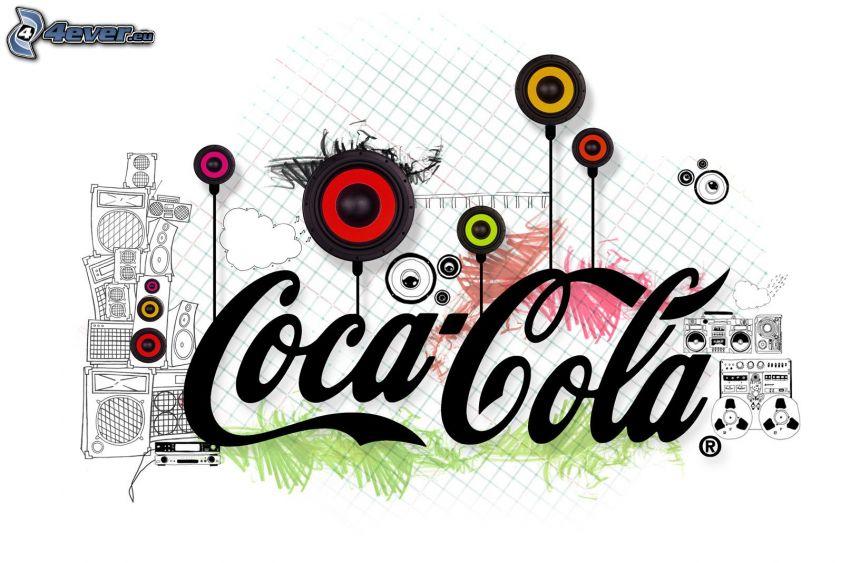 Coca Cola, głośniki
