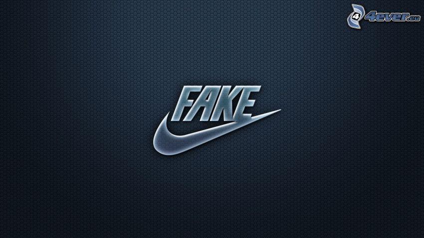 fake, Nike, parodia