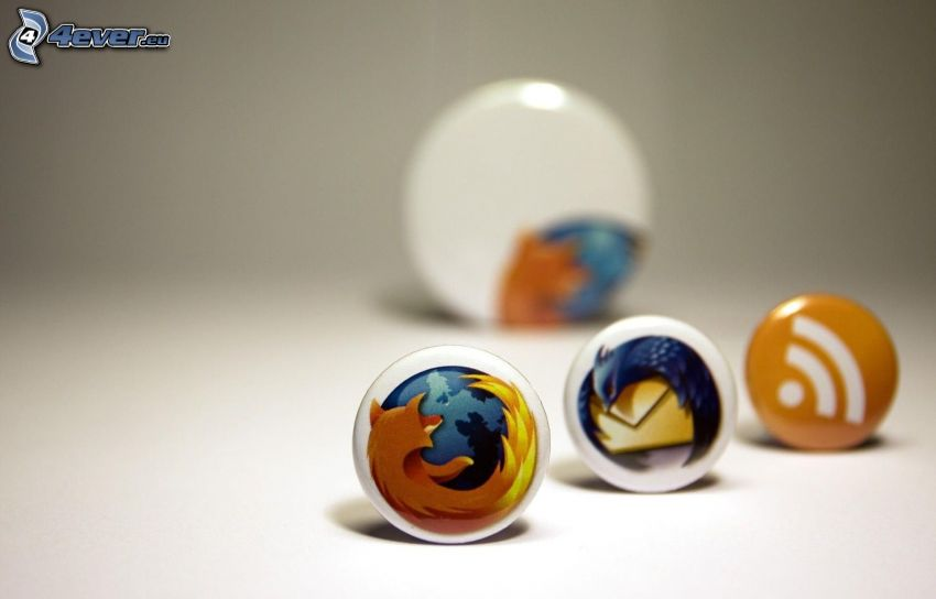 Firefox & Thunderbird, RSS, odznaki