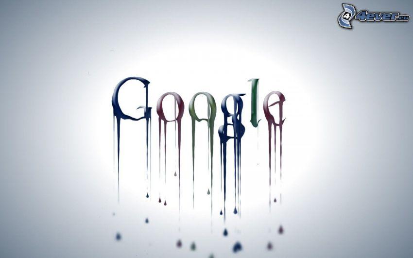Google, logo, kolory