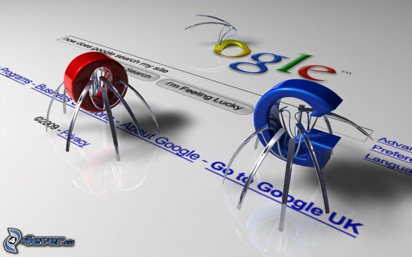 Google, roboty
