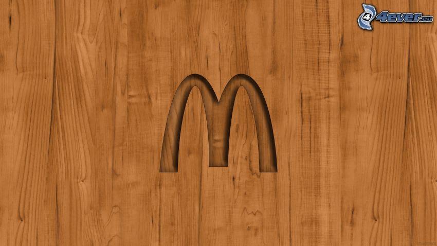McDonald's, drewno