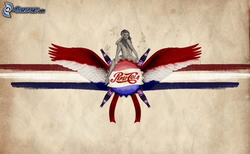 Pepsi, kobieta