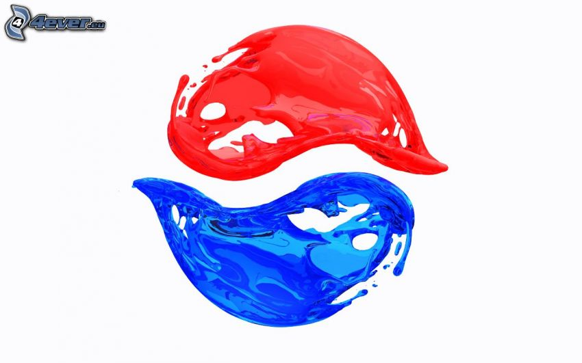 Pepsi, kolorowe kleksy