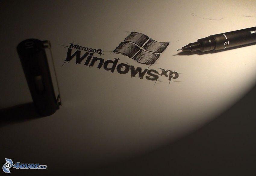 Windows XP, pióro