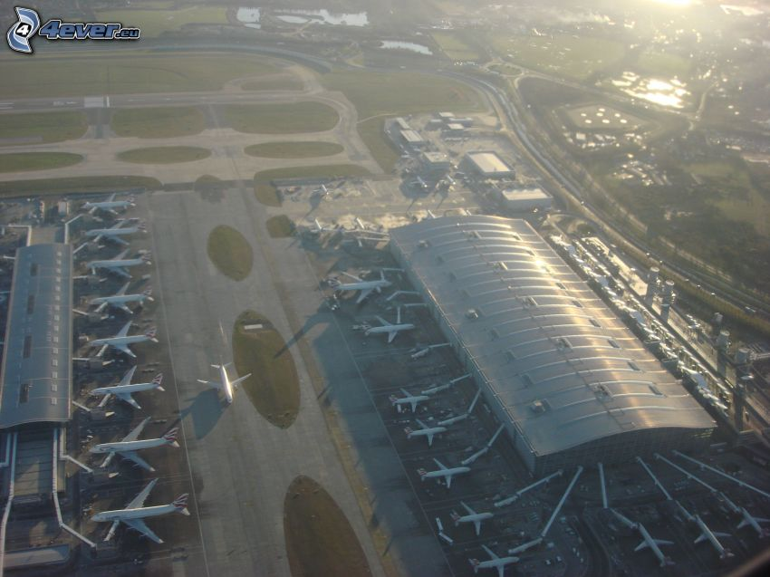 Heathrow, lotnisko, Londyn