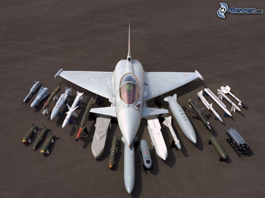Eurofighter Typhoon, rakiety