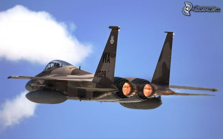 F-15 Eagle, silniki odrzutowe