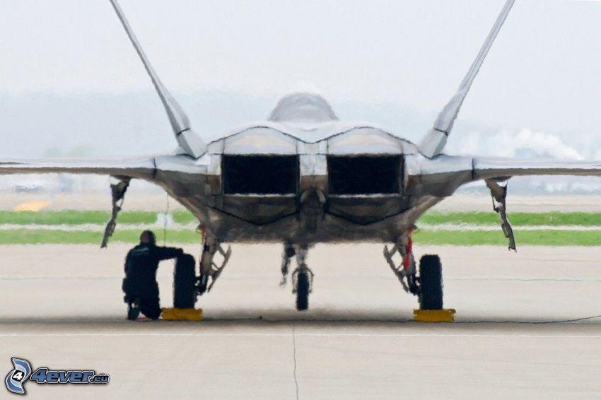 F-22 Raptor, silniki odrzutowe
